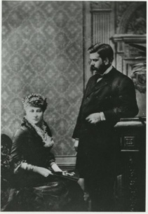 george and margauerite westinghouse (cir 1869)