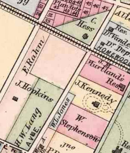 westinghouse park area - 1872