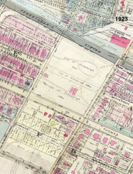westinghouse park area - 1923