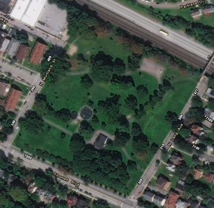 westinghouse park area - 2016