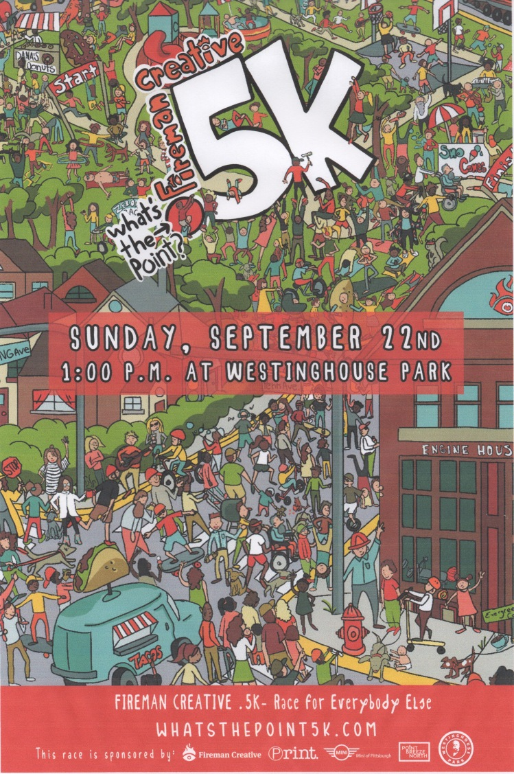 What's the Point 5 K poster